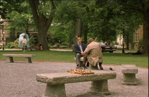 Russell Crowe Josh Lucas chess schach Ron Howard Beautiful Mind, A