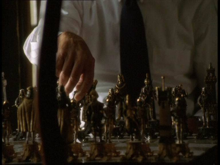Dana Ashbrook Roy Scheider chess schach Paul Cade Angels Don't Sleep Here