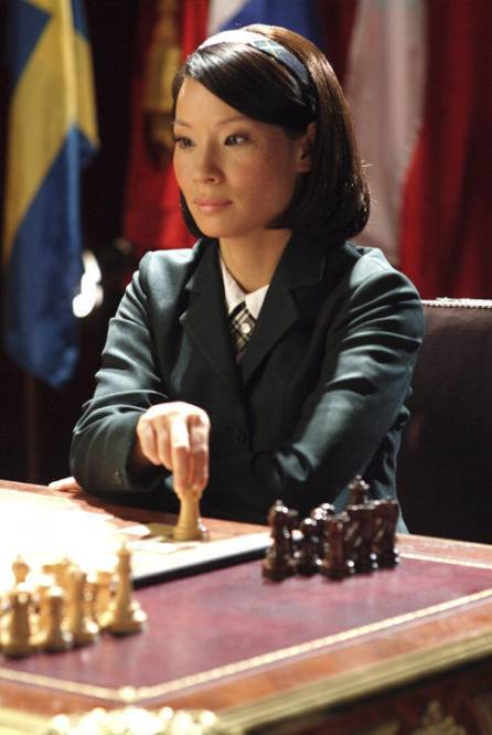 Lucy Liu chess schach McG Charlie's Angels - Full Throttle