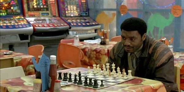 Chiwetel Ejiofor Sergi Lopez chess schach Stephen Frears Dirty Pretty Things