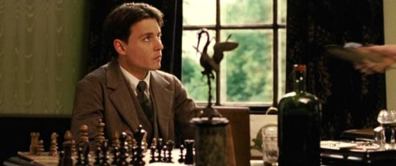 Johnny Depp chess schach Marc Forster Finding Neverland