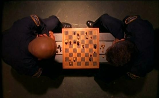 Page Fletcher Maurice Dean Wint chess schach Julian Grant RoboCop: Prime Directives