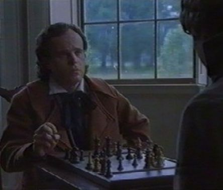 Sam Neill chess schach Charles Haid Sally Hemmings: An American Scandal
