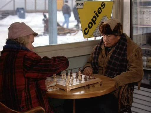 Cuba Gooding jr. James Coburn Phillip Beer George Labelle chess schach Brian Levant Snowdogs