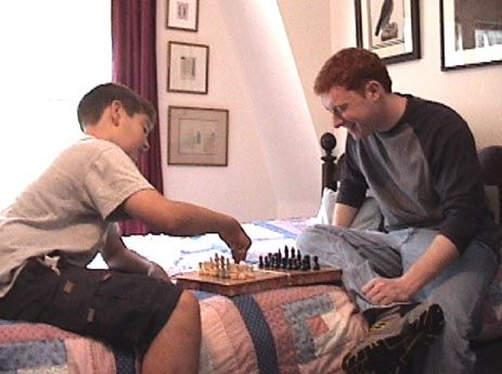 Robert Abrams Daniel Anstanding chess schach Peter Anthony Fields Way Home, The
