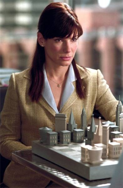 Sandra Bullock Hugh Grant Dorian Missick chess schach Marc Lawrence Two Weeks Notice