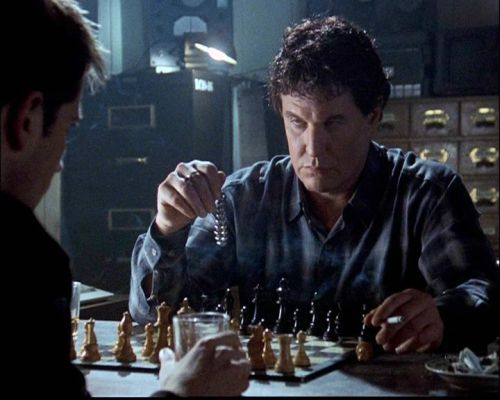 Tom Berenger Tygh Runyan chess schach George Mihalka Watchtower