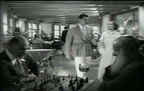 Joan Crawford August Tollaire Clark Gable chess schach Clarence Brown Chained