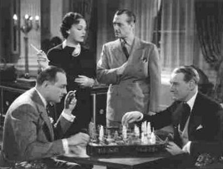 Katherine DeMille Warner Oland chess schach H. Bruce Humberstone Charlie Chan at the Olympics