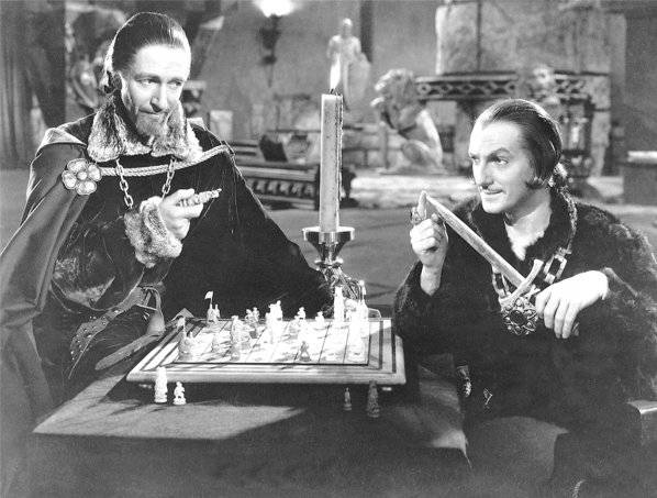 Joseph Schildkraut Ramsay Hill chess schach Cecile B. DeMille Crusades, The