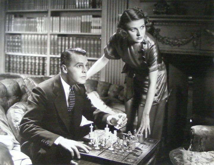 Florence Rice Neil Hamilton chess schach Albert S. Rogell Fugitive Lady