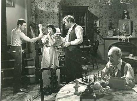 Lee J. Cobb William H. Strauss Barbara Stanwyck chess schach Rouben Mamoulian Golden Boy