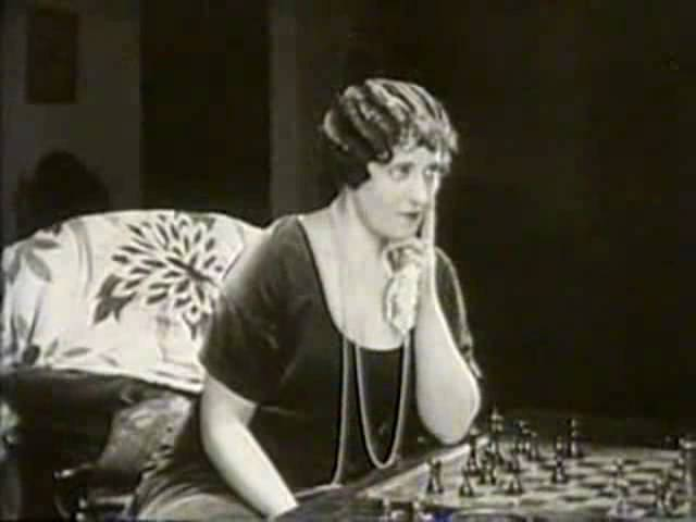 Lon Chaney Ruth King Marc McDermott chess schach Victor Sjöström He Who Gets Slapped