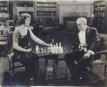 Dorothy Dalton Richard Neill chess schach Joseph de Grasse His Wife's Friend