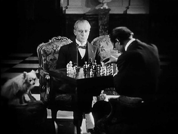 Alfred Abel chess schach Marcel L'Herbier Argent, L'