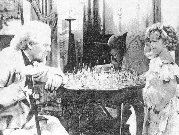 Shirley Temple Lionel Barrymore chess schach David Butler Little Cornel, The