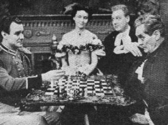 Katherine Hepburn chess schach Richard Wallace Little Minister, The