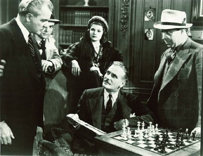 Warren William chess schach Peter Godfrey Lone Wolf Spy Hunt, The