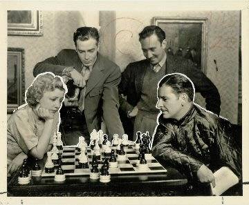 Ronald Colman Isabel Jewell chess schach Frank Capra Lost Horizon