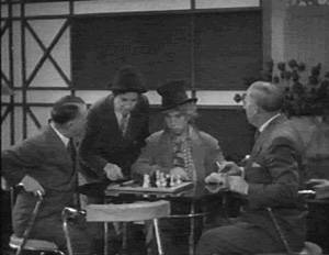 Harpo Marx Chico Marx chess schach Norman Z. McLeod Monkey Business