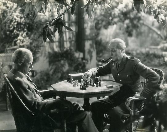 Leslie Howard O.P. Heggie chess schach Sidney Franklin Smilin Through