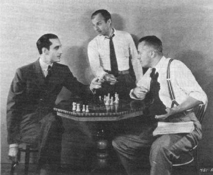 Basil Rathbone Leila Hyams chess schach Nick Grinde Bishop Murder Case, The