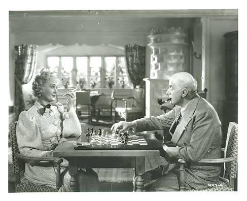 Billy Burke Reginald Owen chess schach Dorothy Arzner Bride Wore Red, The