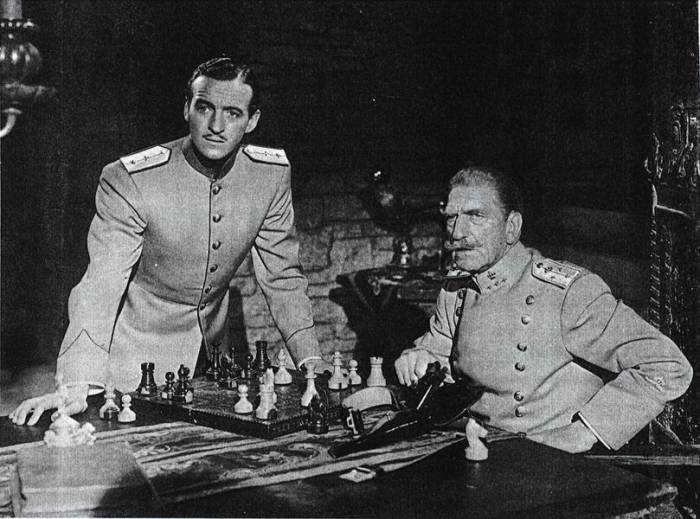 David Niven chess schach John Cromwell Prisoner Of Zenda, The