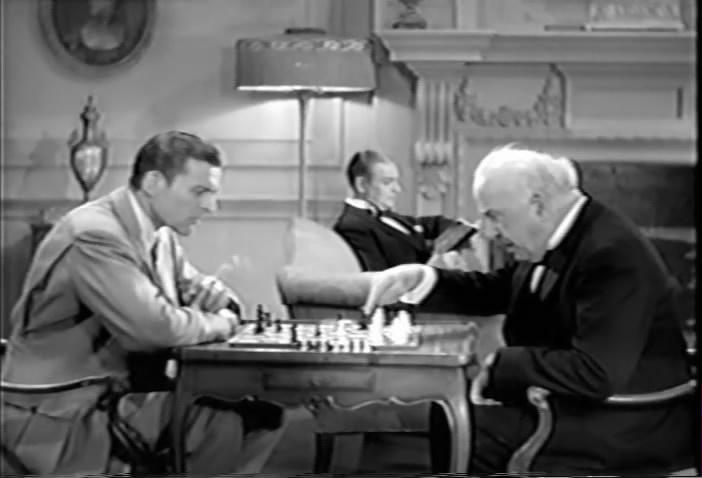 Donald Cook chess schach Lewis D. Collins Spanish Cape Mystery, The