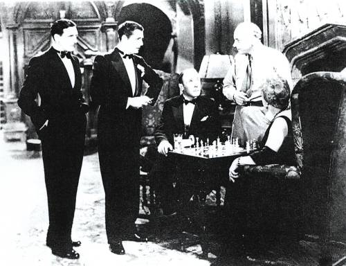 chess schach Cecil B. DeMille Squaw Man, The