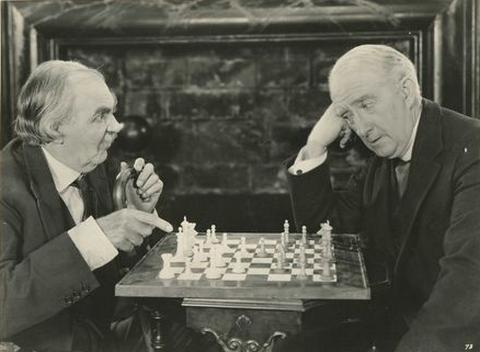 Claude Gillingwater Alex Francis chess schach George Fitzmaurice Thief In Paradise, A