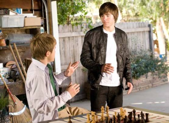 Zac Efron Sterling Knight chess schach Burr Steers 17 Again