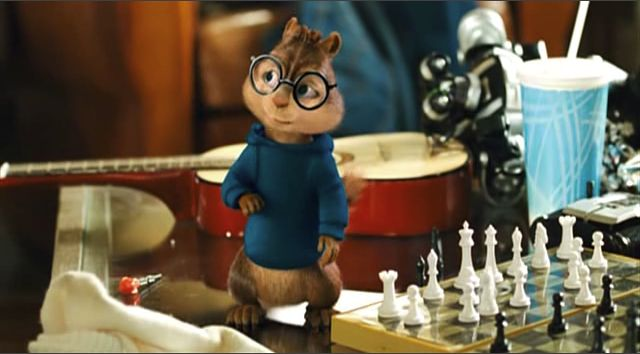chess schach Betty Thomas Alvin and the Chipmunks: The Squeakquel