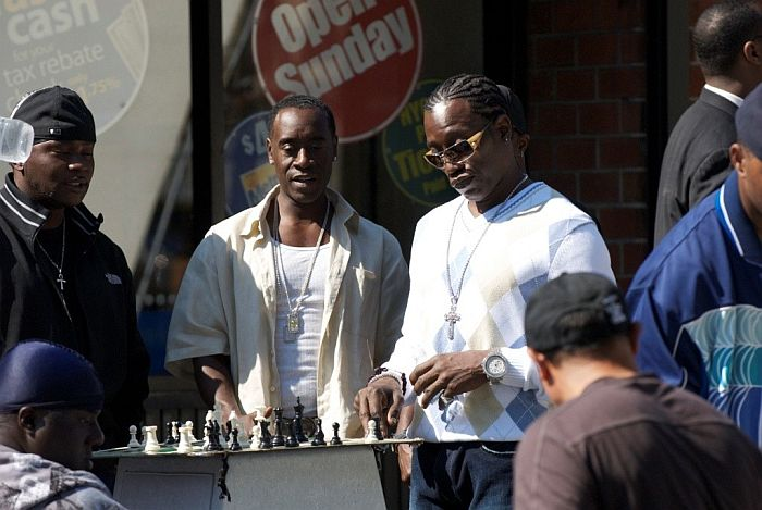 Don Cheadle Wesley Snipes chess schach Antoine Fuqua Brooklyn's Finest