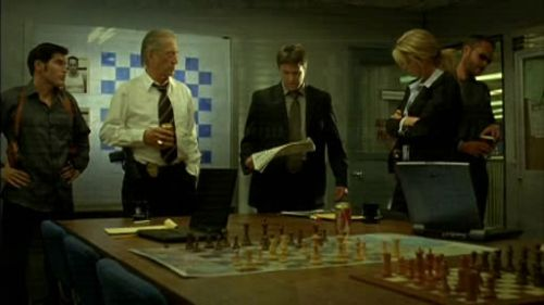 David Carradine chess schach Joey Travolta Final Move