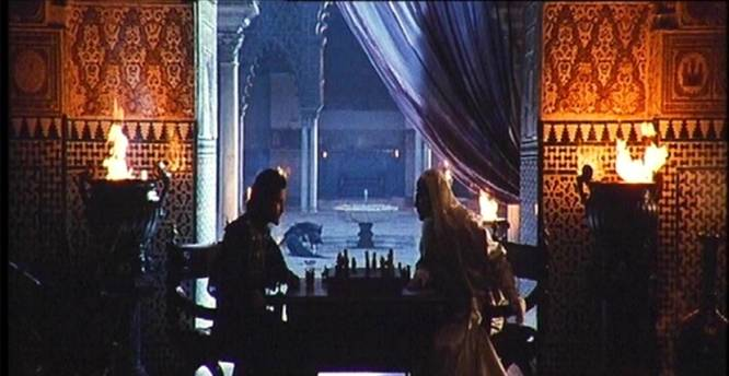 Orlando Bloom Edward Norton chess schach Ridley Scott Kingdom of Heaven