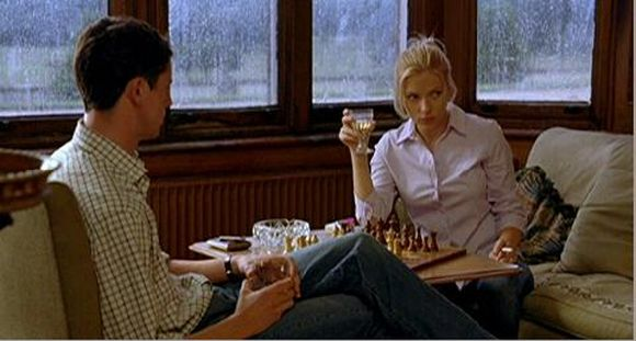 Scarlett Johansson Matthew Goode chess schach Woody Allen Match Point