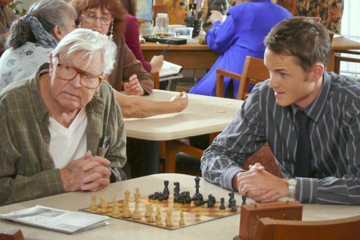 Andy Griffith Paul Campbell chess schach Marc Fienberg Play the Game