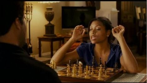 Taraji P Henson chess schach Tyler Perry Family That Preys, The