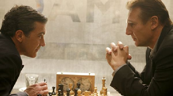 Liam Neeson Antonio Banderas chess schach Richard Eyre Other Man, The