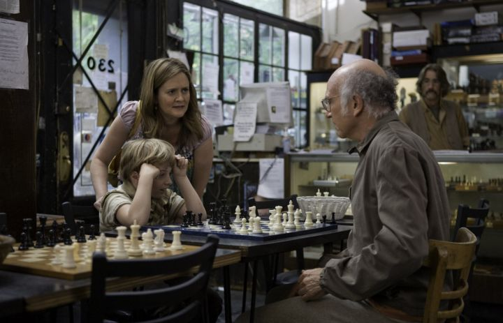Larry David Evan Rachel Wood Samantha Bee Willa Cuthrell-Tuttleman chess schach Woody Allen Whatever Works