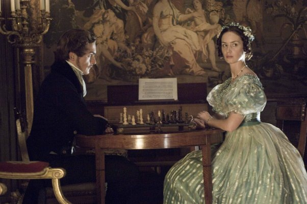 Emily Blunt Rupert Friend chess schach Jean-Marc Vallée Young Victoria, The