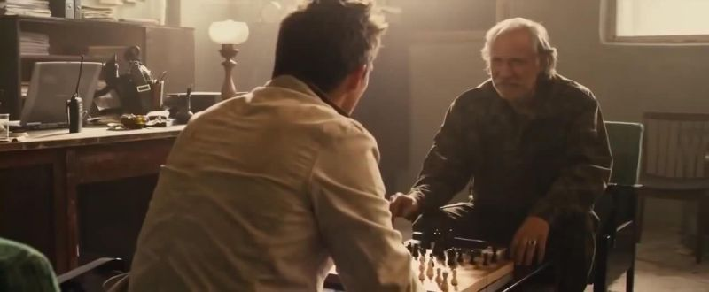 Rupert Friend Rade Serbedzija chess schach Renny Harlin 5 Days of War