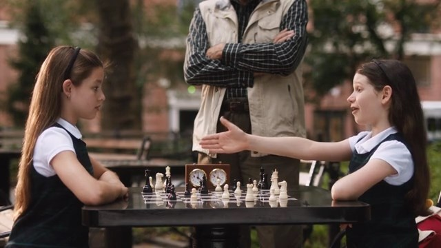 Makenna Ballard F. Murray Abraham chess schach Evan Oppenheimer Little Game, A