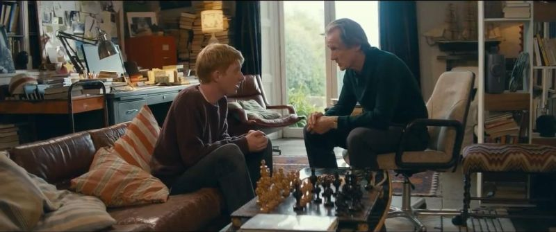 Domhnall Gleeson Bill Nighy chess schach Richard Curtis About Time