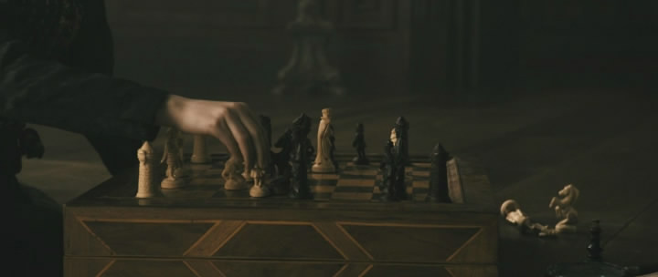 Isaiah Michalski Jamie Campbell Bower chess schach Roland Emmerich Anonymous