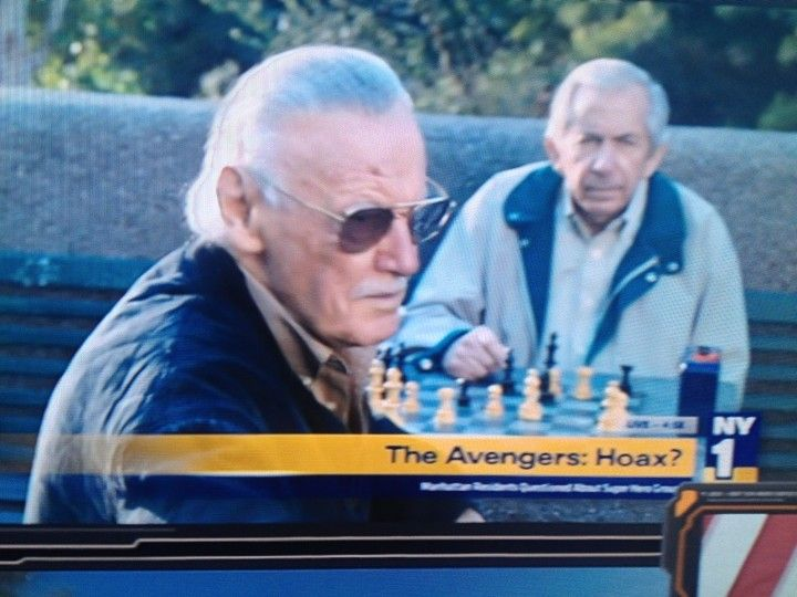 Stan Lee chess schach Joss Whedon Avengers, The