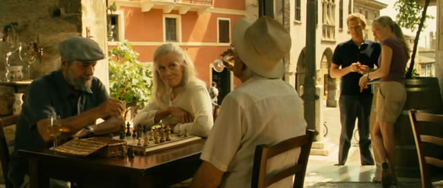 Vanessa Redgrave Amanda Seyfried Angelo Infanti chess schach Gary Winick Letters to Juliet