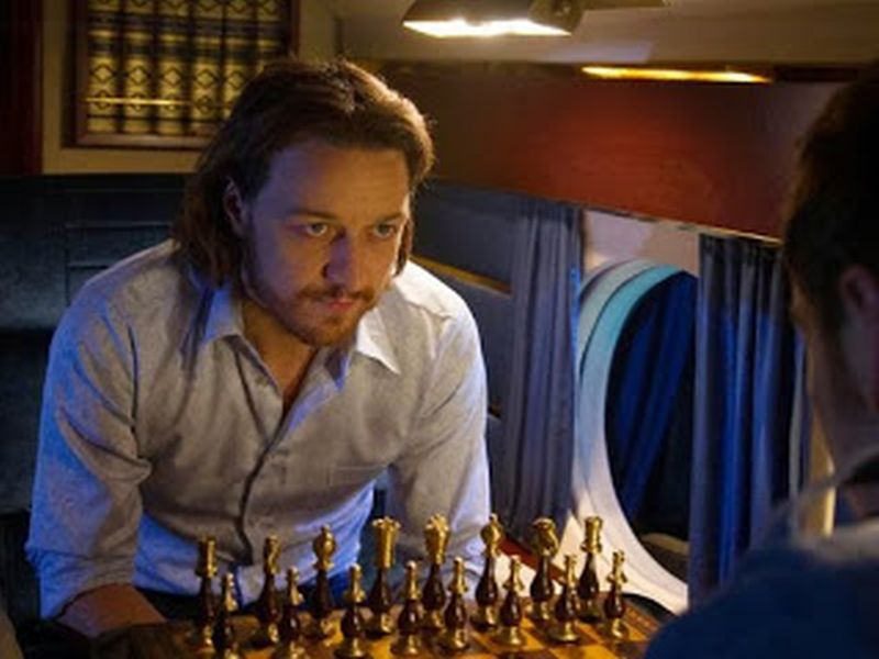 James McAvoy Michael Fassbender chess schach Bryan Singer X-Men - Days of Future Past