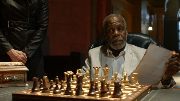 Danny Glover Vinnie Jones chess schach Timothy Woodward Jr. Checkmate